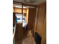 2004 fixed bed compass 534 magnum caravan