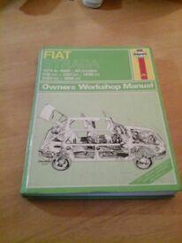 Haynes Car Maintenance Manual Fiat Strada