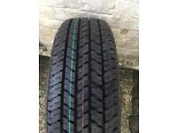 Spare steel wheel and brand new tyre Bridgestone 4x100