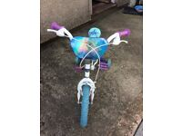 Frozen themed bike