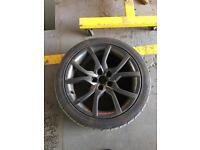 "Audi 18"" alloys"