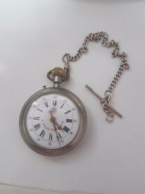 antique Roskopf pocket watch Wille Freres. This watch is in perfect working order!