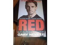 GARY NEVILLE AUTOBIOGRAPHY RED