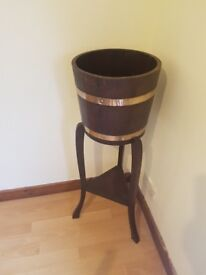 Jardiniere by Listers Dursley antique wood