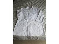 White Workshop Coat/Lab Coat