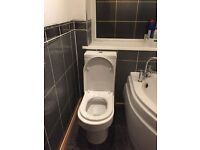 White Sink with Taps Hudson reed £80.00 O.N.O and towel Warmer and toilet