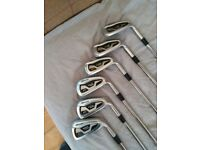 Mizuno Golf Clubs MX 1000 Hot metal Irons - 5 - PW Gold Series - Immaculate
