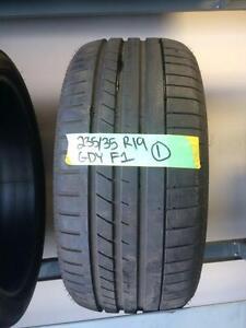235/35/19 GoodYear F1 tire