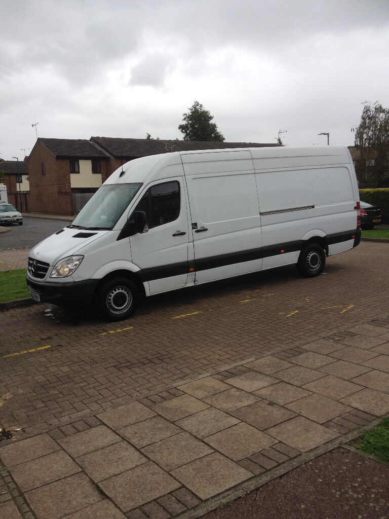 Man and van service London, UK and EU.
