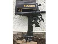 Suzuki 4hp two stroke outboard