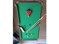 "Charles Bentley 4'-6"" (139cm) Folding Snooker Table"