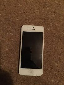 iPhone 5 on o2 giffgaff Tesco good condition full working in order