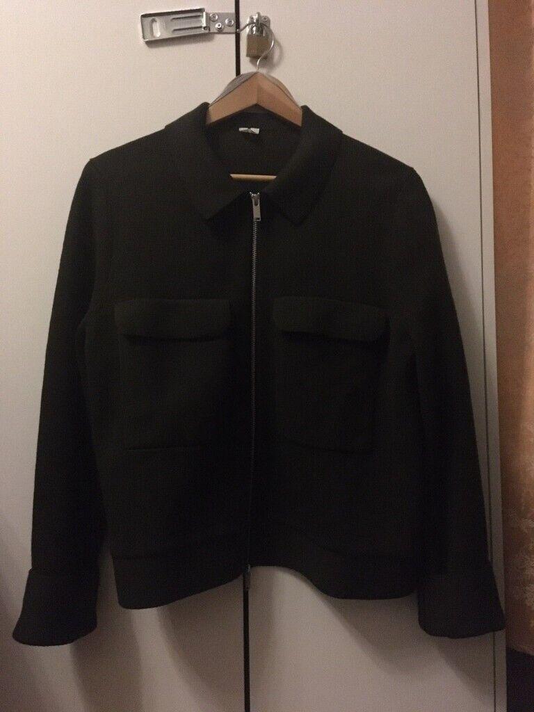 Arket Merino Wool Blend Box Jacket Khaki In Enfield London Gumtree