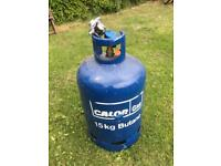 Gas bottles and gas reducer