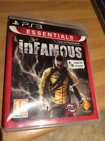 Infamous- PS3 Game