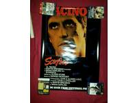 Scarface signed movie poster no2