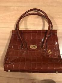Brand New brown leather bag