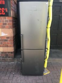 SAMSUNG GRAPHITE FRIDGE FREEZER