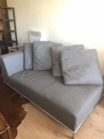 Camerich two person chaise longue sofa