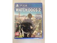 NEW Watchdogs 2 - PS4 Game