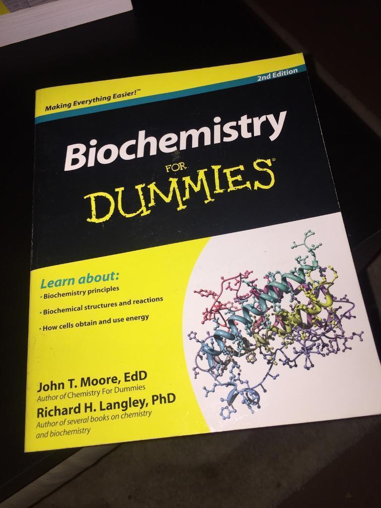 Biochemistry for Dummies textbook