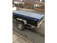 6x3 Trailer with fitted Waterproof cover