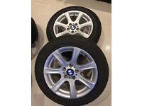 BMW 5 series E60 &f10 Winter Tyres + Alloys 225/55/RF17