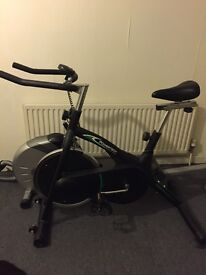 Powertech exercise bike and rowing machine in fantastic condition!