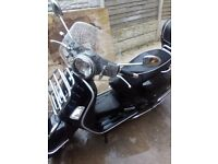 Vespa 300gts low mileage. Loads of extras. Vgc