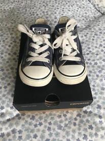 Children's Converse trainers size 7