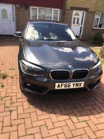 2016 BMW 1 series 1.5 118i sport hatchback manual 5dr