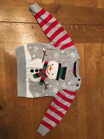 Christmas jumper aged 12-18 months Cheltenham (1 years)