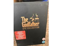 The Godfather Triology 5 disc set