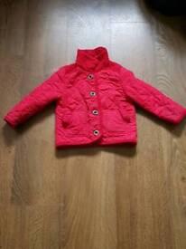 Girls winter jacket 1.5- 2 years old