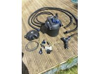 Oase Aquamax eco 6000 pond pump and filter