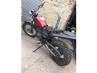 YAMAHA TW 125 BREAKING FOR SPARES