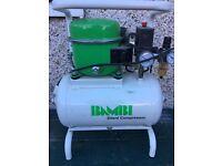 Bambi 15ltr 0.5hp silent air compressor