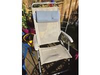 Garden camping folding chair