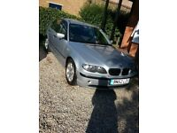 BMW 316i SE 2002 Low mileage for year, 4 new Pirelli all weather tyres at 104745