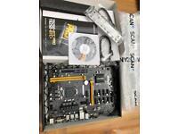 Biostar Intel B250 TB250 BTC Pro motherboard (Support 12 GPU)
