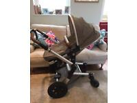 Joolz Pushchair, Carrycot & accessories