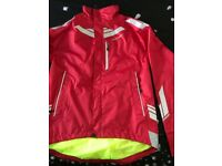 New 2 Styles of Red Cycling Jackets Medium £6 each