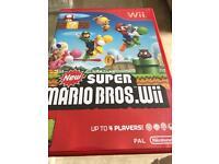 Wii super mario bris