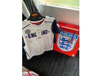 Boys England set with gift bag