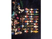 37 Lego Mini-Figures & Lego Mini-Figure Parts/Pieces Bundle