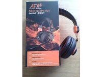 AFX Firestorm H01 Gaming Headset, Black/Orange, Very good condition