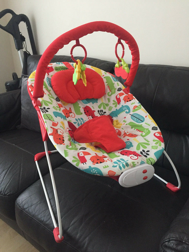 A Cozy Baby Bouncer (Red Kite) for Sale