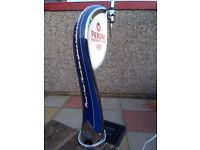 Peroni beer pump with drip tray/frame excellent used condition