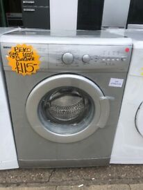 BEKO 6KG BADIC USE WASHING MACHINE IN SILIVER