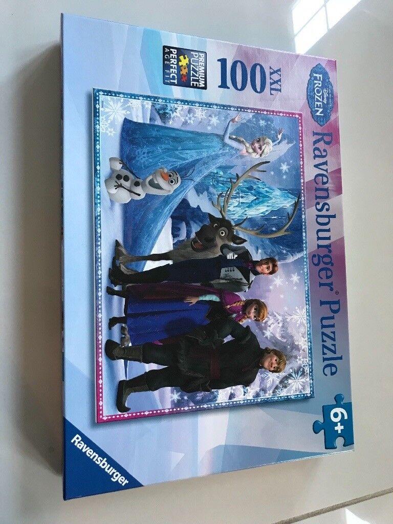 Frozen jigsaw puzzle 100 pieces age 6+